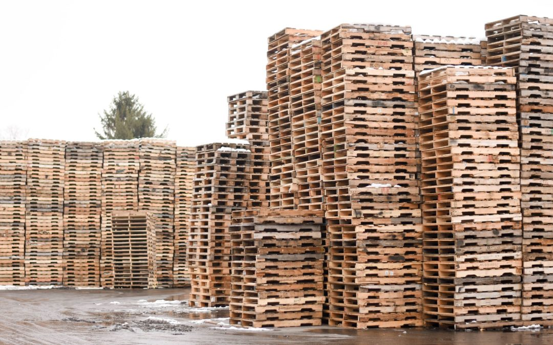 Wooden Pallets Better for Food!